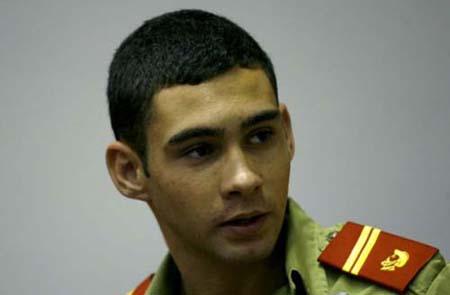 Elian Gonzalez when he was in a military academy.