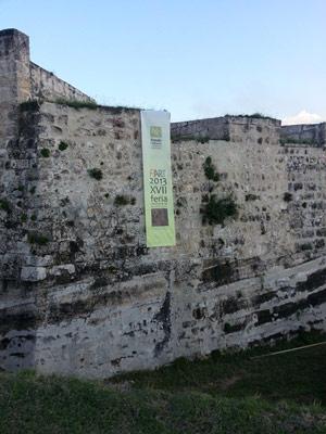 FIART at the San Carlos de la Cabaña fortress.