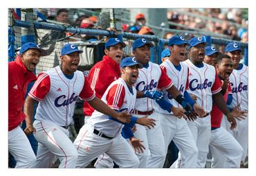 Team Cuba at an international event. Photo: Erik van Kordelaar