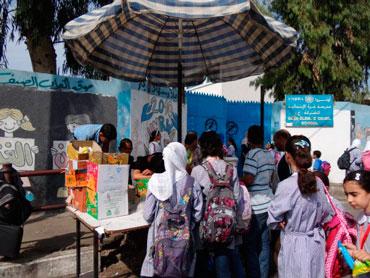 "Gaza ""Tuck Shop""  Photo: Julie Webb-Pulman"