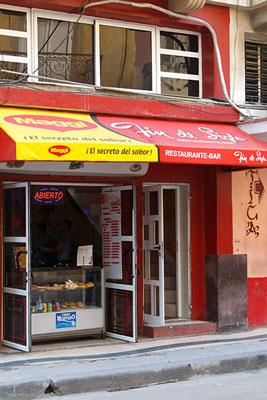 A Havana private restaurant (paladar).  Photo: Juan Suarez