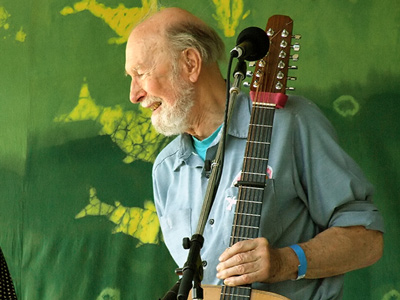 Pete Seeger.  Photo: wikipedia.org