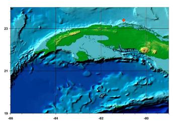 Map: cubadebate.cu
