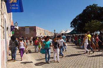 Cuba Book Fair 2014.  Photo: Juan Suarez