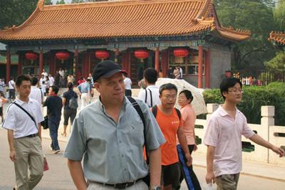 Isidro Estrada in China.