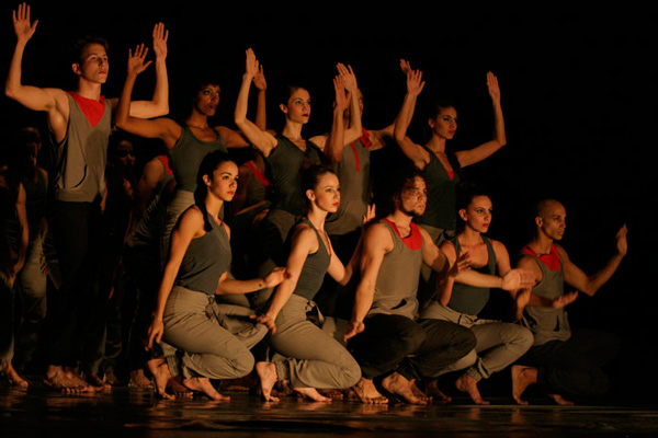 Danza Contemporanea in the celebration of the EGREM label.