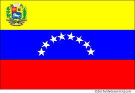 Venezuelan flag.
