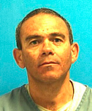 Agustín Bejarano while serving time for pedophilia in Miami Dade.