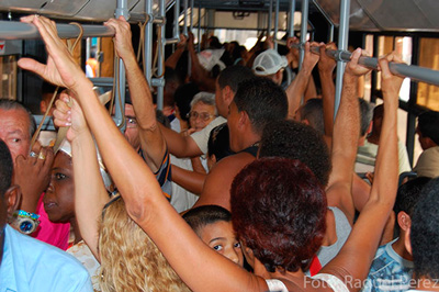 Cuba's public transportation system has never fully met people's needs in more than 50 years.