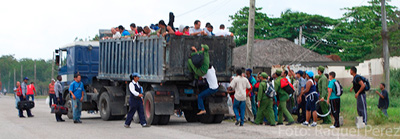 Cuba's public transportation system is chaotic because of a lack of norms and supervision.