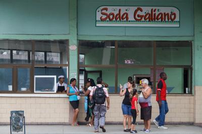 Cafetería de la calle Galiano.  Photo: Juan Suarez