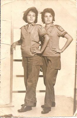 Adria & Ivonne Santana as brigadistas in 1961.