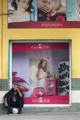 Glamour en La Habana.  Photo: Juan Suarez