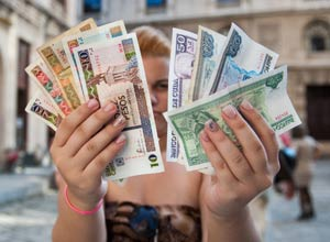 """""""What currency do I pay in?"""" A growing dilemma in anticipation of Cuba's imminent monetary unification."""