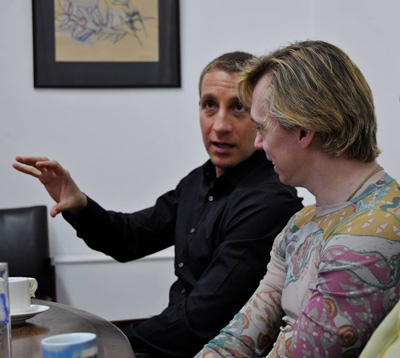Paul Seaquist and Vladimir Malakhov