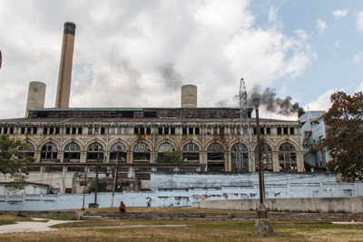 The Tallapiedra thermoelectric plant in Havana.