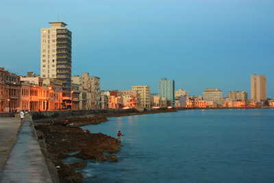 Part of the Havana skyline.  Photo: Juan Suarez