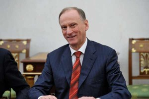 Nikolai Platonovich Patrushev, head of the FSB, signed for the Russian Federation.