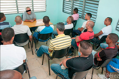 """The former manager of a """"State socialist company"""", now in prison, teaches the other inmates different subjects."""