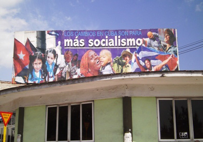 The changes in Cuba are for more socialism.