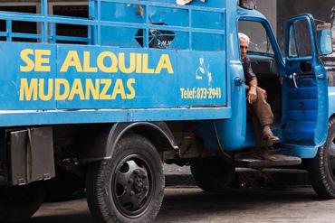 Havana mover. Photo: Juan Suarez