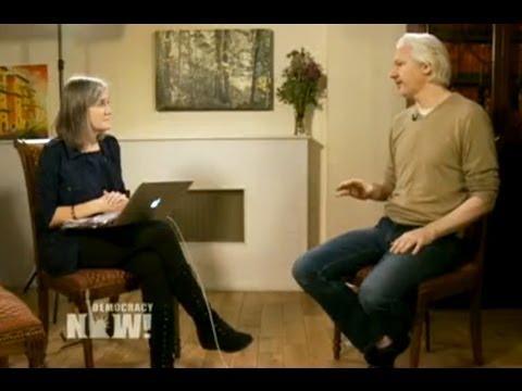 Amy Goodman interviews Julian Assange at the Ecuadorian Embassy in London.