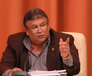 Cuba's Minister of the Economy and chief supervisor of the economic reforms, Marino Murillo.