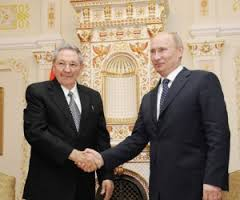 Raul Castro and Vladimir Putin when the Cuban president visited Russia in 2012.  Photo: cubadebate.cu