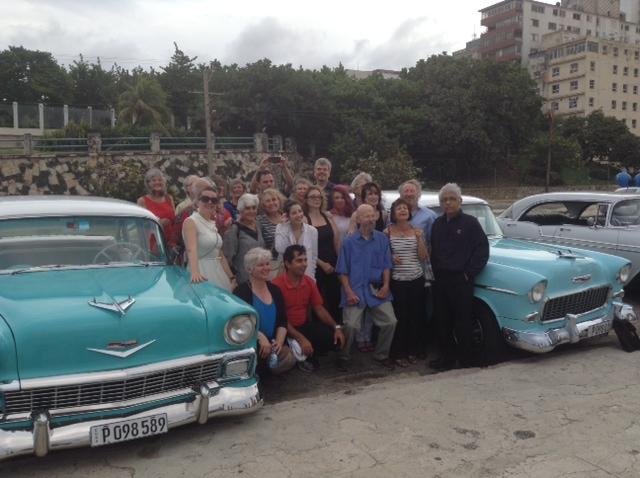 The Nation delegation in Havana.