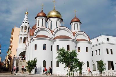 Despite their falling out in the 1990s, relations between Cuba and Russia were re-established gradually, and to such an extent that an Orthodox Russian Church was built in Havana.