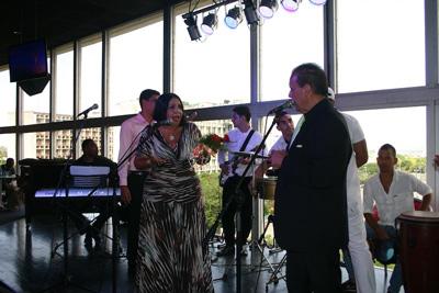 Hosts Diana Rosa and Omar Ali