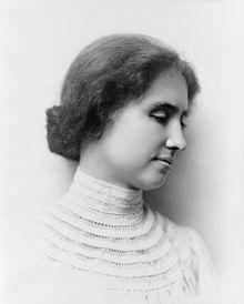 Hellen Keller.  Foto: wikipedia.org