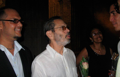 Daniel Noriega with Leo Brouwer
