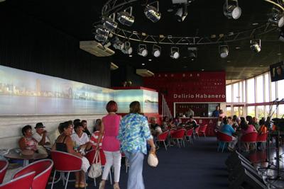 The Delirio Habanero bar.