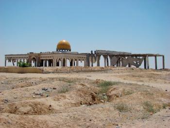 Gaza airport. Photo: Julie Webb-Pullman