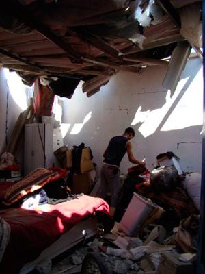 Deadly rubble.  Photo: Julie Webb-Pullman