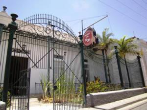 Entrance to the Santiago de Cuba Rum Museum.