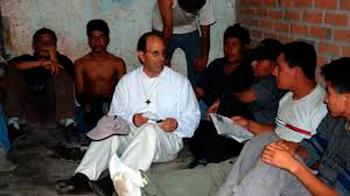 Father Solalinde.  Photo: democracynow.org