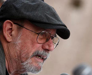 Singer/songwriter Silvio Rodriguez: At the end of the storm.