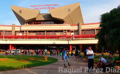 Terminal 3 of the Havana Airport, where most international flights arrive.