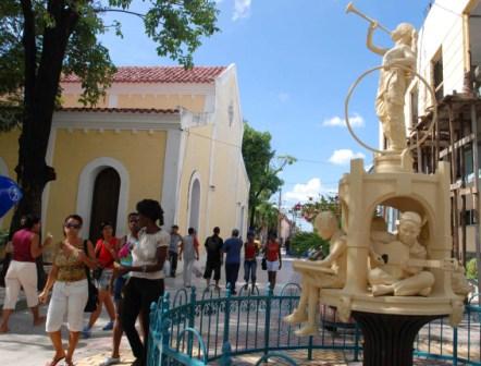 Guantanamo street.  Photo: Caridad