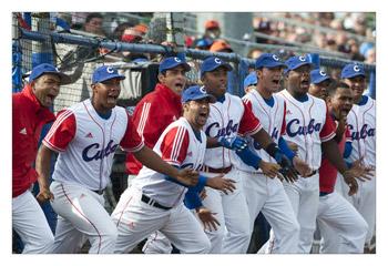 Archive photo of Team Cuba by Erik van Kordelaar.