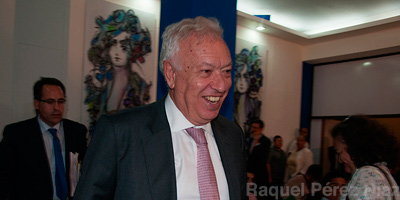 Spanish Foreign Minister Jose Manuel Garcia-Margallo