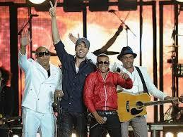 Enrique Iglesias, Descember Bueno and Gente de Zona. Photo: radioangulo.cu