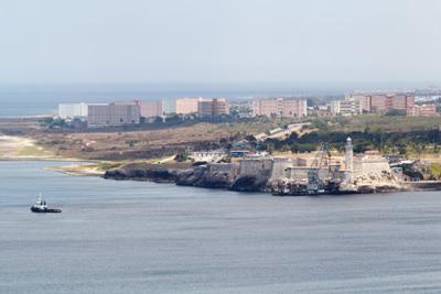 El Morro y parte del Municipo de Habana del Este.