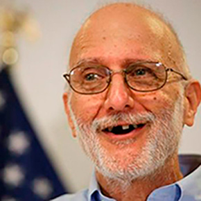 Alan Gross after his release from prison in Cuba where he served 5 of 15 year sentence.
