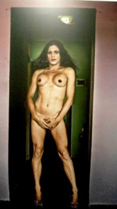 "Enjoying the exhibition titled Fatima XXXXXY: Ensayo de Paolo Titolo (""Fatima XXXXXY: An Essay by Paolo Titolo"")"