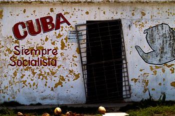 Cuba will always be socialist.  Photo: Jaime Prendes