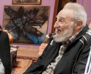 Fidel Castro in January 2014.  Foto: cubadebate.cu