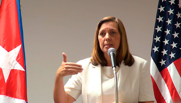 Josefina Vidal, Director General for the US in Cuba's Foreign Ministry. Photo: Raquel Perez Díaz